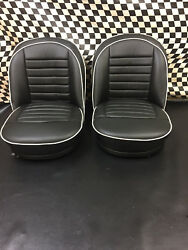 Triumph Tr3 New All Leather Interior With Front Seats