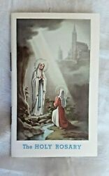 The Holy Rosary Booklet Printed Italy Arch Mediolani 1951 Catholic Christianity