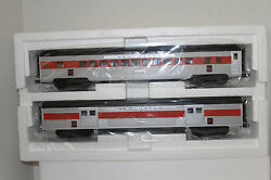 Mth 20-69225 New Haven Abs 70' Baggage/coach Passenger Car 2 Pack Ribbed