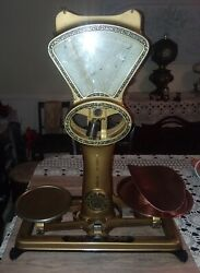Antique Dayton Scale Style No.120 Candy / Tobacco 2 Lb. Scale