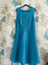 41hawthorn Blue A-line Ribed Dress Size S