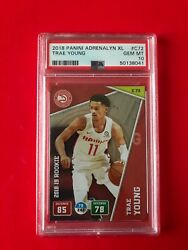 2018 Panini Adrenalyn Xl Rc Rookie Trae Young C72 Gem Mint Psa 10