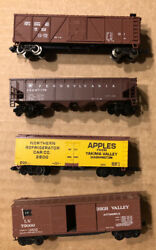 Lot Of 4 N Scale Rolling Stock Freight Trains/cars Atlas Micro Trains
