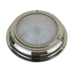 Scandvik 41324p Led Traditional Ss Dome Light 5.5 Inch