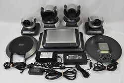 Lot Of Lifesize Room Video Conferencing Equipment Camera Phone Lfz-021