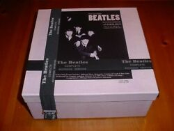 Beatles Complete Sessions Anthology Box62cd/10 Dvd/208 Page Book