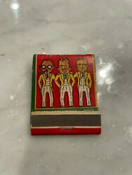 Manny Moe And Jack The Pep Boys Full Unstruck Matchbook