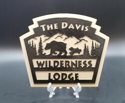 12 Personalized Disney World Fort Wilderness And Wilderness Lodge Inspired Sign
