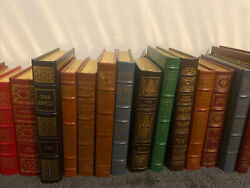 100 Greatest Books Ever Written Easton Press Leather Rare Excellent Condition