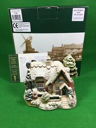 Lilliput Lane Christmas Lights At The Bell Inn L2485 The British Collection 2001