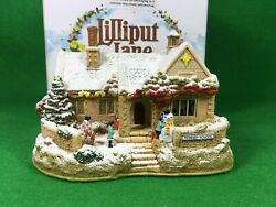 Lilliput Lane School's Out For Christmas L3404 Illuminated Cottages 2012 Special