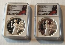 2016 W And S Silver American Liberty Medal Set Ngc Pf70 Early Releases