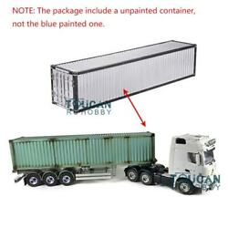 1/14 Rc Hercules Benz Tractor Truck Container 40ft Metal Chassis Semi-trailer