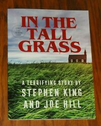 In The Tall Grass Stephen King And Joe Hill Limited First Edition Horror Pb 2021