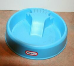 Vintage Little Tikes Blue Swimming Pool Doll House Furniture