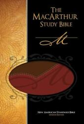 The Macarthur Study Bible Personal Size - Imitation Leather - Very Good