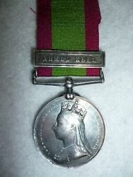 Afghanistan Medal 1878-1880, To 60th Foot, Wounded, Deserted, Forfeited, Renamed