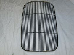1932 Ford Stainless Steel Grille Insert Roadster Deuce Coupe Factory 2nd