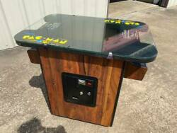 Vintage Authentic Pac-man / Multi-pac Arcade Video Game Cocktail Table From 1981