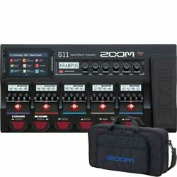 Zoom G11 Multi-effects Processor Limited Time Exclusive Bag Cbg-11 Present