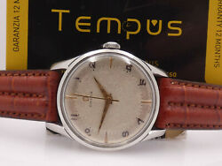 Omega Vintage 2640 Stainless Steel Year 1950 Manual Winding Cal 283 Menand039s Watch