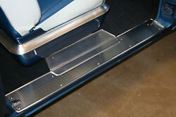 1955 1956 Chrysler Desoto Imperial Door Sill Plates - Die Stamped -nos Quality