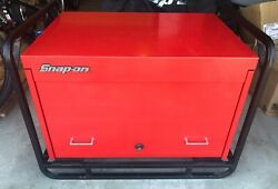 Snap-on Heavy Duty 36andrdquo Road Chest With Cage And Cover Local Pickup Only