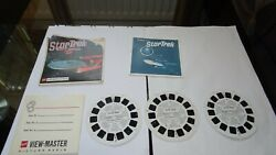 View Master Reels Star Trek 3 X Reels And Booklet Complete Stereo Good Condition