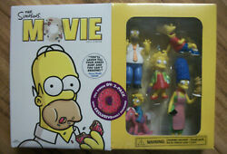 The Simpsons Movie Full Screen Dvd Plus Exclusive Figurines New