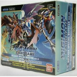 Digimon Card Game Release Special Booster Box Ver.1.5 English Priority Mail