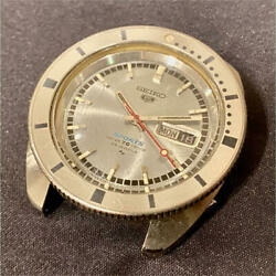 Seiko 5 Sports Antique 5126-8090 Automatic Silver Dial Men's Watch Used