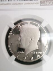 1984 Clad Kennedy Half Dollar S 50c Proof Ngc Pf70 Ultra Cameo New Brown Label