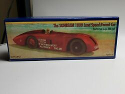 Schylling Tinplate 012 - Sunbeam 1000 Land Speed Record Car - Red  New In Box