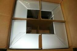 4-pk Ballew's Outside Corners Clear Anodized Aluminum For 080 Ext Gutter