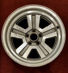 1986-1989 Chrysler Conquest/mitsubishi Starion 16 X 8 Rear Oem Used Wheel Rare