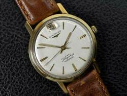 Longines Flagship Ref.3108 Cal.341 Automatisch Vintage Uhr 1960and039s