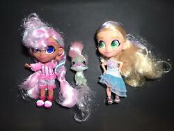 Hairdorables Lot Includes Rare Doll Bella Pet And Deedee