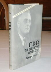 1976 1st Ed. Fdr The Other Side Of The Coin - Signed By Hamilton Fish