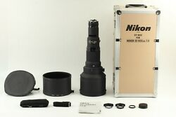 [top Mint W/ Case Hood] Nikon Ai-s Nikkor 600mm F4 New Ed If Lens From Japan 2