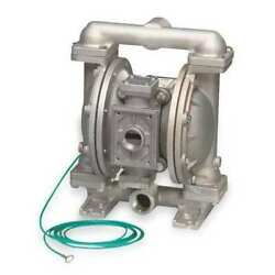 Sandpiper G1fb1sttxnsx00. Double Diaphragm Pump, Stainless Steel, Natural Gas