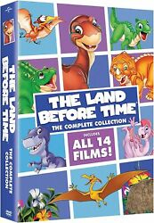 The Land Before Time The Complete Collection All 14 Films - 8 Dvd Box Set Sealed