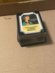 The Simpsons 2003 Trading Card Game 97 Cards Lot No Duplicates 2