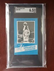 1982 7 Up Larry Bird Indiana State University Sycamore Rampage Police