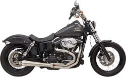 Bassani 4megaphone Road Rage 3 Exhaust For 91-17 Harley Dyna Fxd Fxdwg Fxdb
