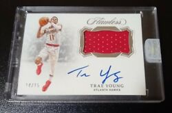 2018-19 Flawless Trae Young Rookie Rc Patch Auto Rpa 14/15 Sealed Autograph