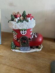 Latex Mould With Fibreglass Casing For Making This Lovely Santa Boot House