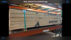 """Plywood Fir Ab Exterior Domestic 3/4""""x4'x8' 25 Sheets Strap And Palletizeed"""