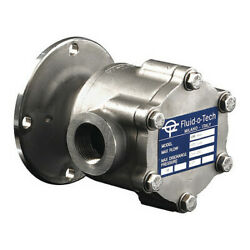 Fluid-o-tech Lo2000cn0nv0000 Rotary Vane Pumpstainless Steel11 Gpm