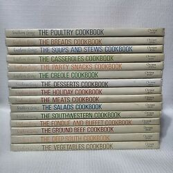 Set Of 15 - The Southern Heritage Cookbook Library By Southern Living