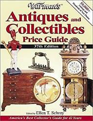 Warman's Antiques And Collectibles Price Guide Paperback Ellen Ti